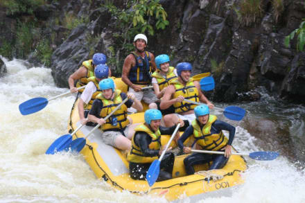 Eine harte Nummer - Rafting auf dem Tully River! - Tully River Rafting