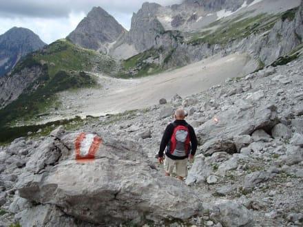 Wanderung am Dachstein - Torstein