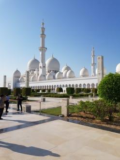 Die weiße Moschee - Scheich Zayed Grand Moschee