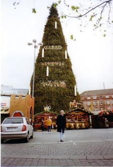 Der größte Weihnachtsbaum der Welt - Weihnachtsmarkt Dortmund