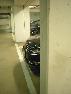 Tiefgarage - Hotel Holiday Inn Hamburg