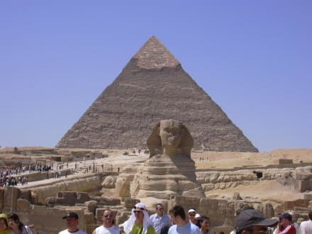 Sphinx/pyramiden - Pyramiden von Gizeh