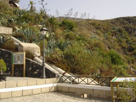 Eingang - Wasserfälle - Barranco del Infierno