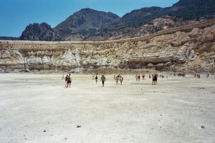 Nisyros, Stefanos Krater - Vulkankrater auf Nisyros