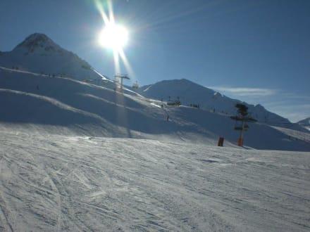 Was für ein Himmel - Skigebiet Schöneben