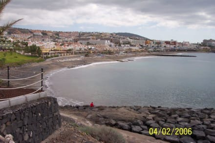 Starnd ca. 150m vom Hotel Bahia Princess - Strand Playa de Fanabe