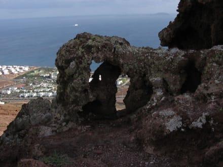 Blick vom Montaña Roja - Vulkan Montaña Roja