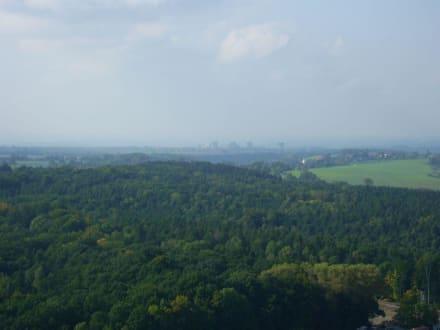 Festung Königstein - Ausblick - Festung Königstein