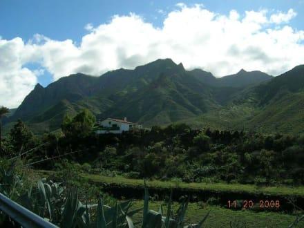 Ausflug  ins Innere der Insel - Bergwelt