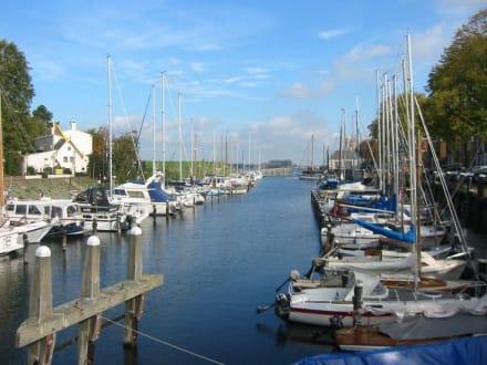 Hafen in Veere  - Hafen Veere