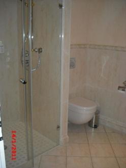 bad nur mit dusche bild gran hotel belveder in scharbeutz schleswig holstein deutschland. Black Bedroom Furniture Sets. Home Design Ideas