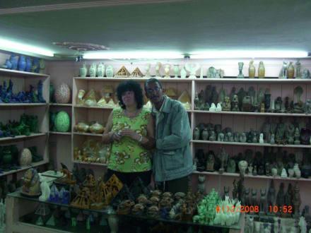 Im Laden von Ahmed - Zentrum Hurghada