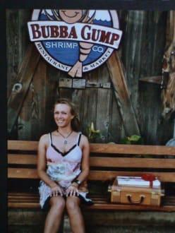Das Leben ist wie ein Pralinenkasten - Bubba Gump