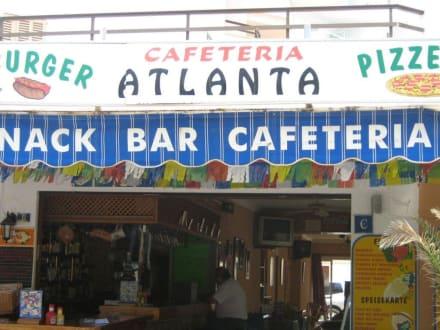 Aussenansicht Bar Atlanta - Bar Pizzeria Atlanta