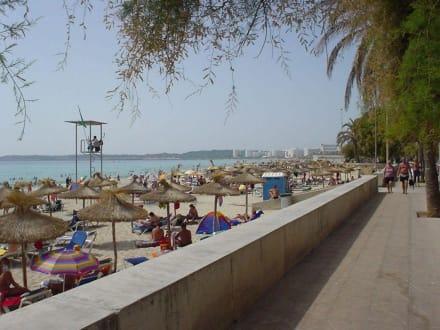 Cala Milor - Strandpromenade Cala Millor