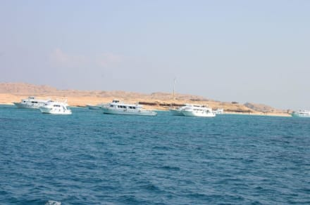 Blick aufs Rote Meer - Giftun / Mahmya Inseln