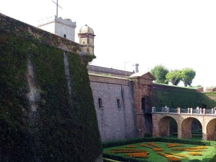 Gartenanlage - Castell de Montjuïc