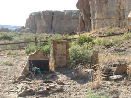 Wetherill Cemetery im Chaco Canyon - Chaco Culture National Historical Park