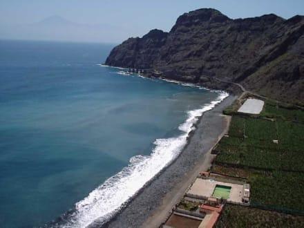 Playa  Hermigua - Playa de Hermigua