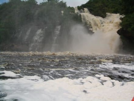 Toller Anblick - Wasserfälle von Canaima - Salto Sapo