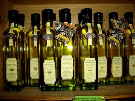 Öle der Olivenmühle in Millas - Olivenmühle La Catalane