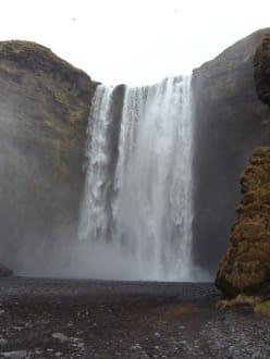 Skogafoss Wasserfall - Skogafoss