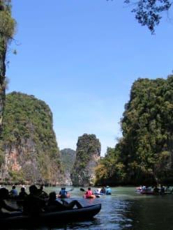 Die Bucht von Phang Nga - Phang Nga Canoeing