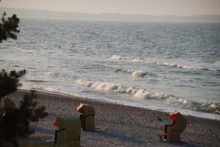 Abendstimmung am Strand - Strandhotel Miramar