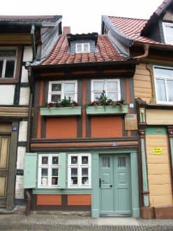""" Kleinstes Haus"" - Altstadt Wernigerode"
