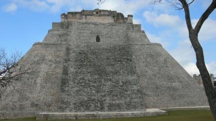 Pyramide - Ausgrabung Uxmal