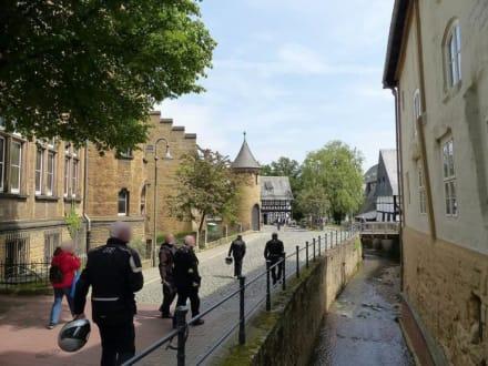 Abstich zur Lohmühle und Paulaner Wirtshaus - Altstadt Goslar