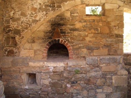 Überreste alter Häuser - Insel Spinalonga / Kalidonia