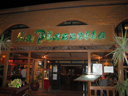 Eingang - La Piazzetta