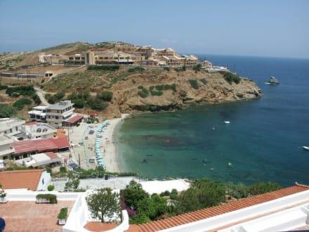 Strand beim Hotels Eva Mare, - Strand Aghia Pelagia/Agia Pelagia