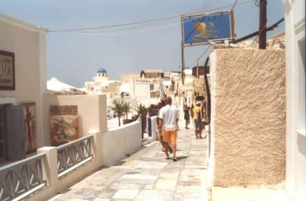Bild in einer schönen Stadt auf Santorin - Insel Santorin
