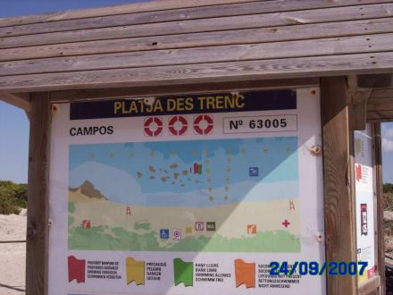 Zentrum des Es Trenc - Platja Es Trenc