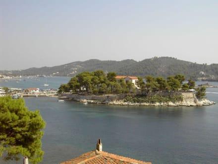 Blick auf die Halbinsel Bourtzi - Halbinsel Bourtzi
