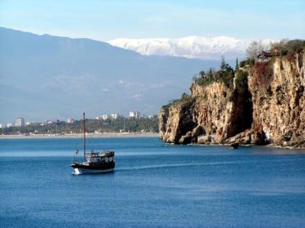 Der Hafen von Antalya im Winter - Hafen Antalya
