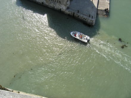 Sprungtiefe Cliff Diving La Rochelle - Red Bull Cliff Diving