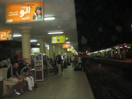 Bahnsteig in Luxor - Transport