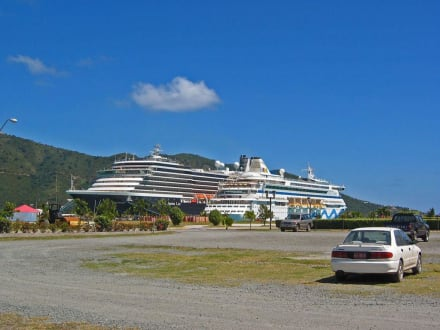 Road Town - Hafen - Virgin Islands