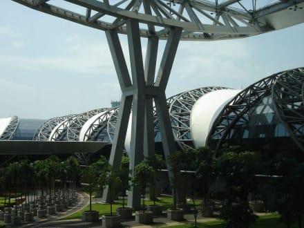 Aussenansicht - Flughafen Bangkok-Suvarnabhumi (BKK)