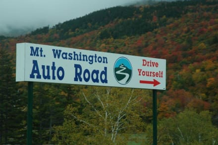Mount Washington Auto Road - Mount Washington