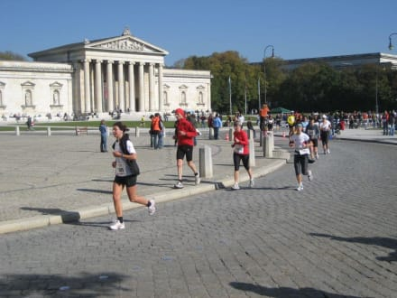Laufen und Sightseeing - München Marathon