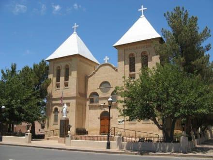 San Albino Church in Mesilla, New Mexico - Mesilla
