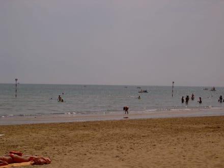 Strand von Lignano Sabbiadoro - Strand Lignano