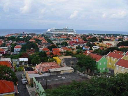 Panorama-Bild von Willemstad - Zentrum Willemstad