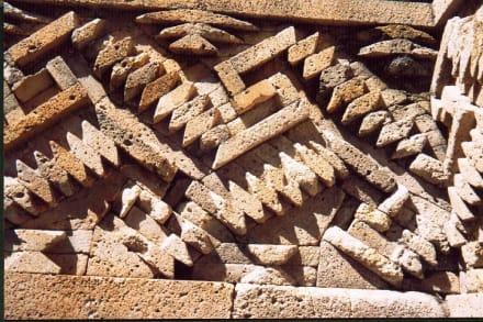 Wandrelief in Mitla - Ruinen Mitla