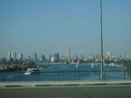 Blick über Kairo - Zentrum Kairo