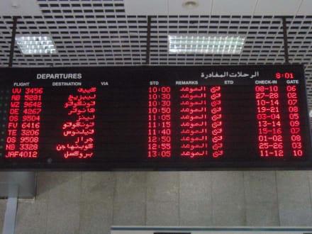 Wo müssen wir hin? - Flughafen Hurghada (HRG)